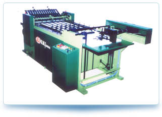Automatic Notebook Folding Machine